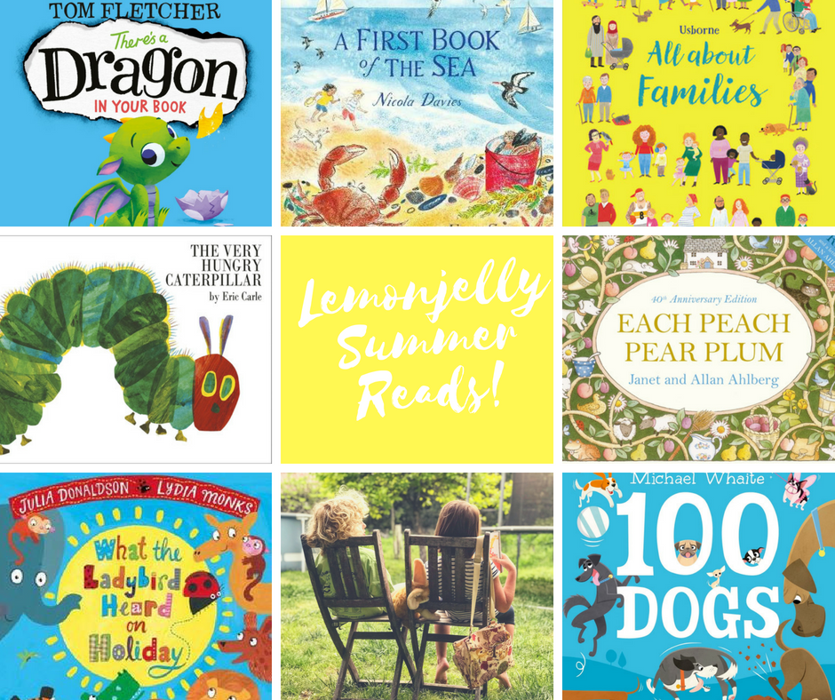 Lemonjelly summer reading list